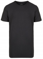T-Shirt Doppelpack - Body Fit - Rundhals - schwarz