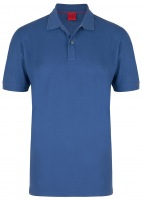 Poloshirt - Level Five Body Fit - blaugrau