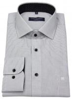 Hemd - Comfort Fit - Karo - schwarz / weiß