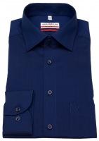 Hemd - Modern Fit - Chambray - dunkelblau