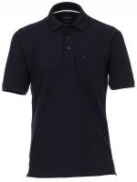 Poloshirt - Pima Cotton - schwarz