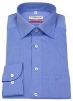 Hemd - Modern Fit - Chambray - blau