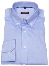 Hemd - Modern Fit - Oxford - Button Down - blau