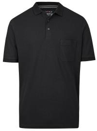 Poloshirt - Quick Dry - schwarz