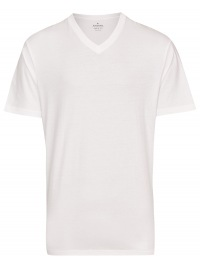 T-Shirt Doppelpack - V-Ausschnitt - weiß