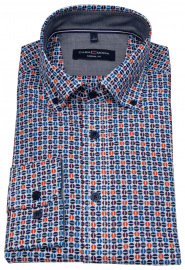Hemd - Casual Fit - Button Down - mehrfarbig