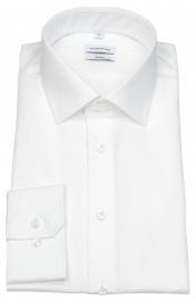 Hemd - Shaped Fit - Kentkragen - weiß