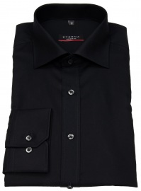 Eterna Hemd - Modern Fit - ohne Brusttasche - schwarz