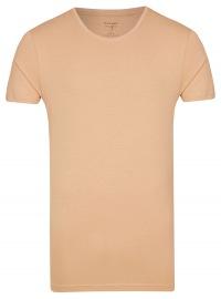 Level Five Body Fit - T-Shirt - Rundhals-Ausschnitt - caramel
