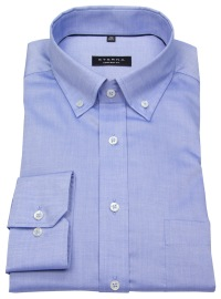 Hemd - Comfort Fit - Button Down - Oxford - blau