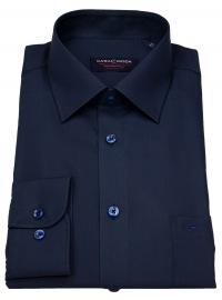 Hemd - Comfort Fit - dunkelblau