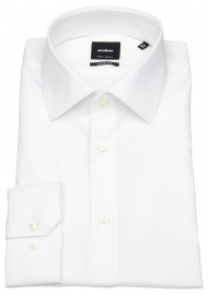 Hemd - Modern Fit - Kentkragen - weiß