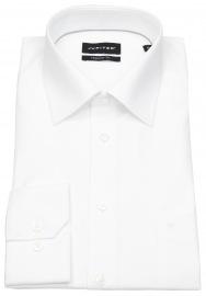 Hemd - Regular Fit - Kentkragen - weiß