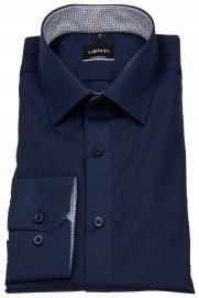 Hemd - Modern Fit - Patch - dunkelblau