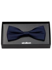 Strellson Schleife / Fliege - Seide - dunkelblau