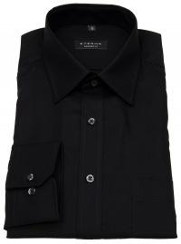 Eterna Hemd - Comfort Fit - Modern Kentkragen - schwarz