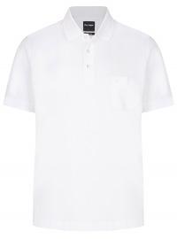Poloshirt - Casual Fit - Piqué - weiß