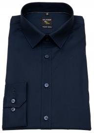 Hemd - No. Six Super Slim - dunkelblau