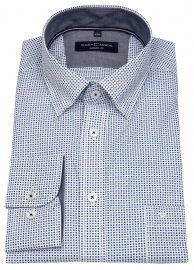 Hemd - Casual Fit - Under Button Down - blau / dunkelblau