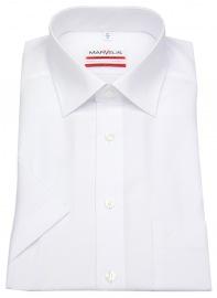Kurzarmhemd - Modern Fit - weiß