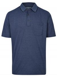 Casa Moda Poloshirt - Regular Fit - dunkelblau