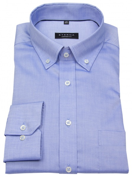 Eterna Hemd - Comfort Fit - Button Down - Oxford - blau - 8100 E194 12